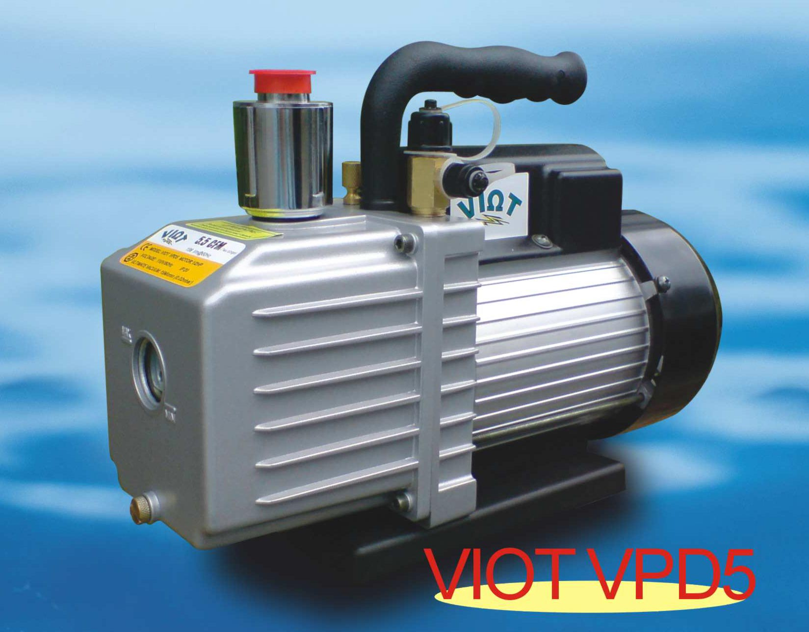 air conditioning vacuum pump. vpd5:heavy duty deep vacuum pump 5.5cfm 2-stage rotary vane epoxy resin air conditioning r