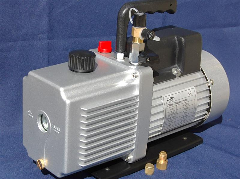 VPDS12:Rotary Vane Vacuum Pump 12CFM Continuous Duty Built In Isolation  Check Valve Milking