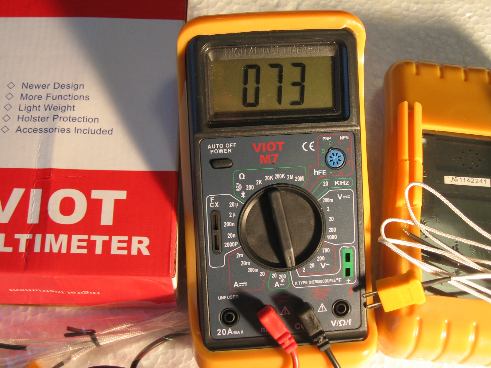 Check Ac Capacitor With Multimeter : Ac dc dmm digital multimeter with capacitor tester w type