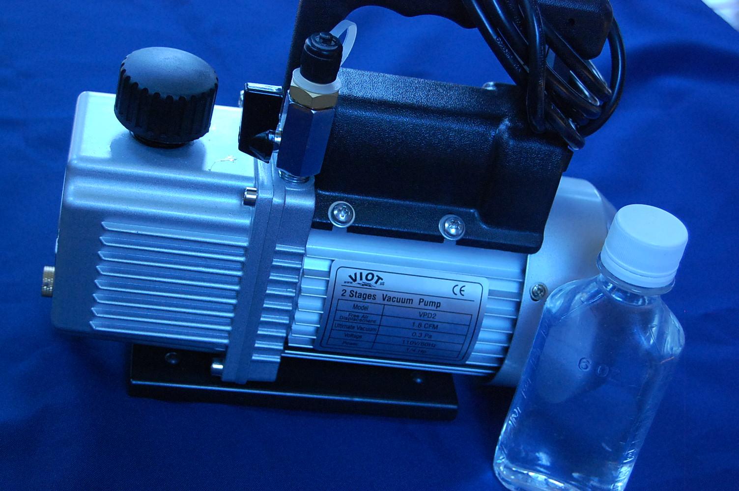 Other HVAC Tools 2-Stage Rotary Vane Deep Vacuum Pump 12CFM HVAC