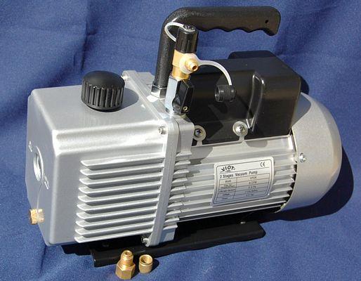 High Performance Rotary Vane Deep Vacuum Pump 6CFM AC/HVAC Bagging New