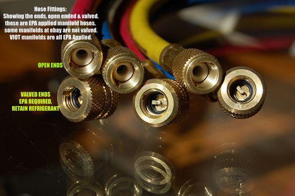 Hose Set for Manifold Gauge 5ft 800/4000 PSI HVAC Tool